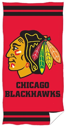 Osuška NHL Chicago Blackhawks 70x140 cm