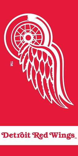 Osuška NHL Detroit Red Wings 70x140 cm - zobrazit detaily