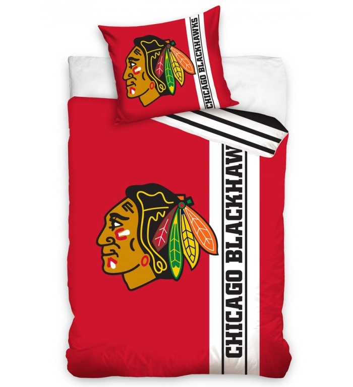 Povlečení NHL Chicago Blackhawks Belt 70x90,140x200 cm